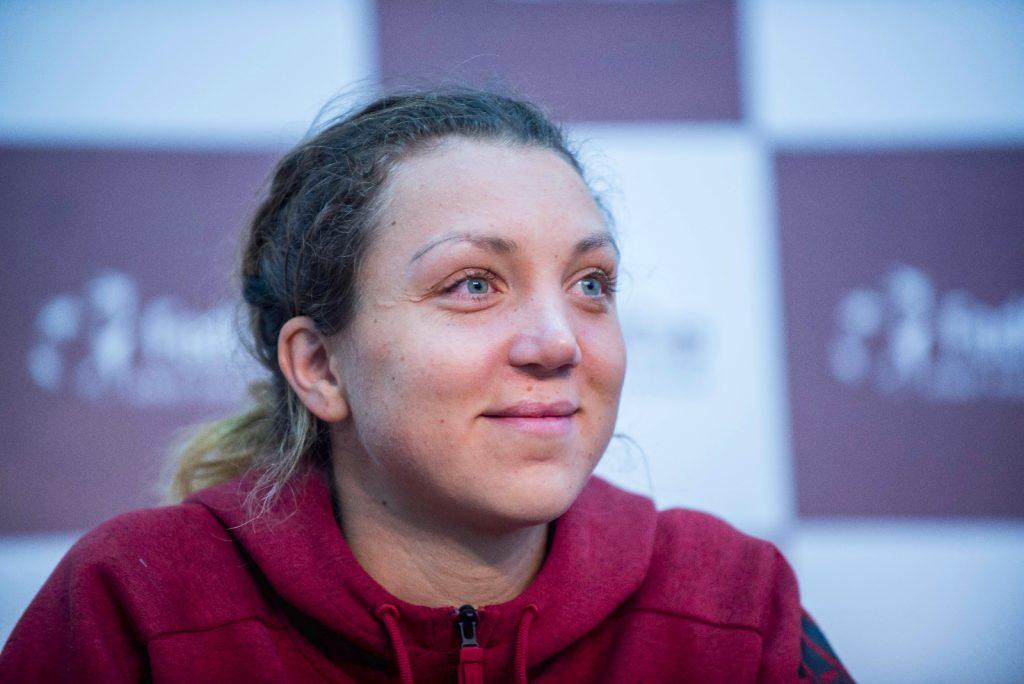 """Patricia Ţig, revelaţia tenisului românesc: """"Cel mai greu moment din viaţă a fost când am stat şase luni departe de teren"""""""
