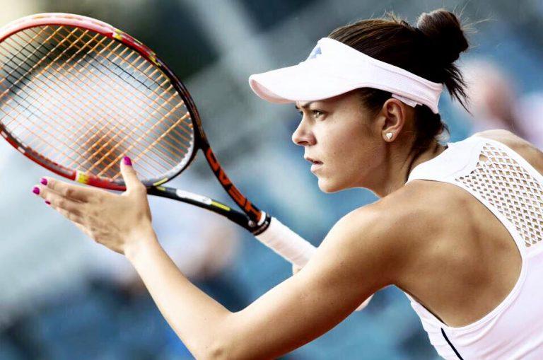 Andreea Mitu, jucătoarea care a debutat la Fed Cup cu o victorie pentru România